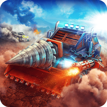 Crushed Cars 3D - Extreme car racing shooter