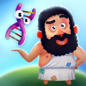 دانلود Human Evolution Clicker Game: Rise of Mankind 1.2.3 بازی تکامل بشریت اندروید