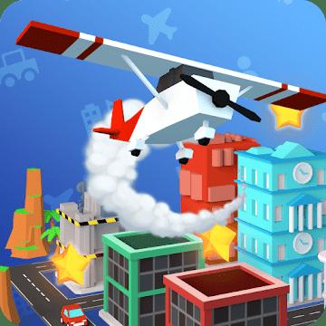 دانلود Arcade Plane 3D v0.1.1 بازی پرواز با هواپیما اندروید