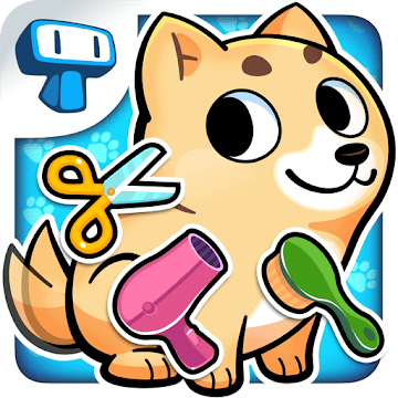 My Virtual Pet Shop - Cute Animal Care Game اندروید APK