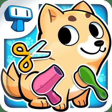 دانلود My Virtual Pet Shop - Cute Animal Care Game 1.5.1 بازی نگهداری از حیوانات خانگی اندروید