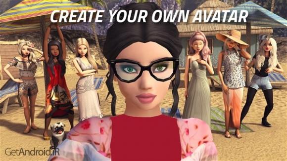 دانلود Avakin Life - 3D virtual world 1.025.02 بازی زندگی آواکین اندروید ! 1