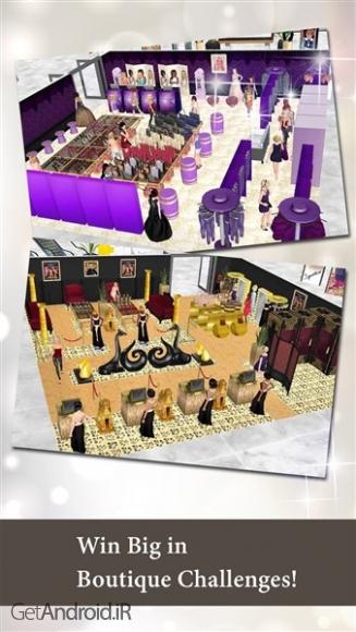 دانلود Fashion Empire - Boutique Sim 2.73.3 بازی آرایشی دخترانه اندروید