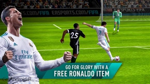 دانلود FIFA Soccer 10.4.00 بازی فوتبال فیفا 2018 موبایل اندروید