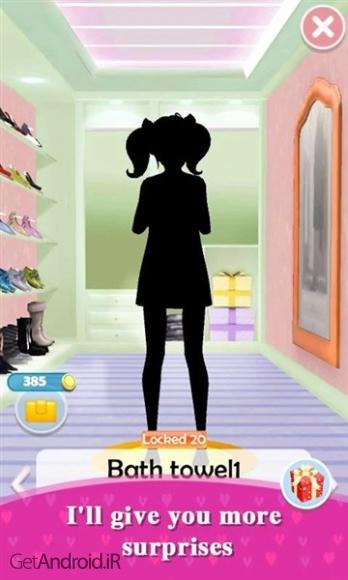 دانلود My Talking Girl 1.1.2 بازی دختر سخنگو اندروید ! 1