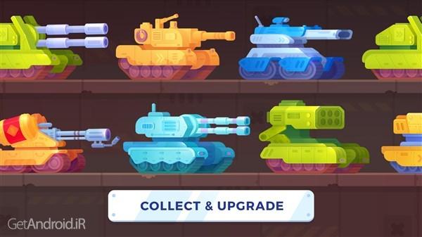 تصویر از دانلود Tank Stars v1.5.10 بازی مبارزه تانک ها برای اندروید