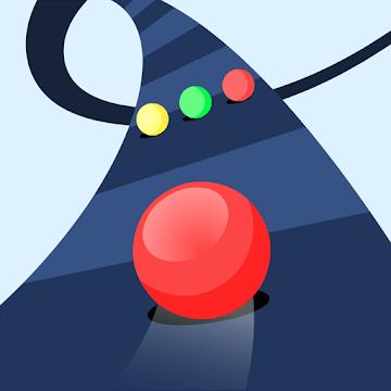 دانلود Color Road 3.0.1 بازی جاده رنگ حفظ تعادل توپ اندروید
