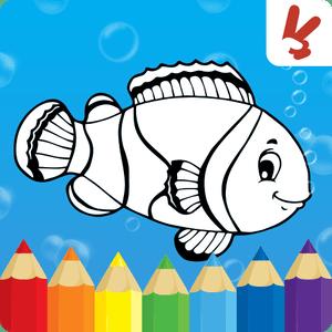 دانلود Coloring games for kids animal 1.4.0 بازی رنگ امیزی حیوانات اندروید