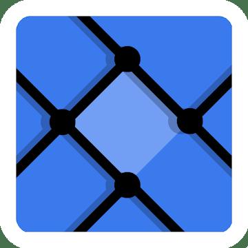 دانلود Dots Sync - Symmetric brain game 1.5 بازی نقطه و خط اندروید