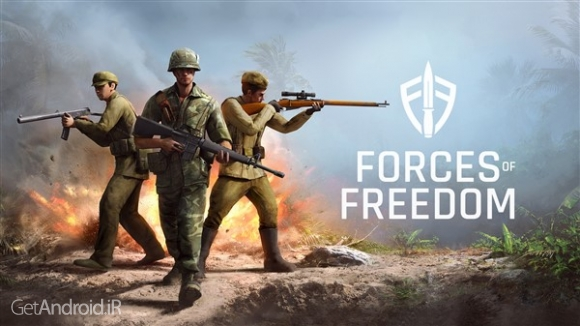 دانلود Forces of Freedom 3.02 بازی نیروهای آزادی اندروید