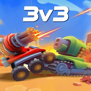 دانلود Tanks A Lot! - Realtime Multiplayer Battle Arena 1.30 بهترین بازی جنگ تانک ها برای اندروید