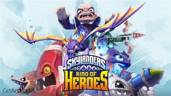 دانلود Skylanders™ Ring of Heroes 1.0.8 بازی کاوشگران آسمان اندروید ! 1