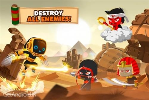 دانلود Ninja Dash 1.3.4 بازی نینجای جنگجو اندروید ! 1