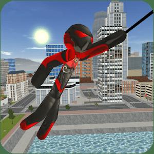 دانلود Stickman Rope Hero v3.8 بازی استیکمن قهرمان اندروید