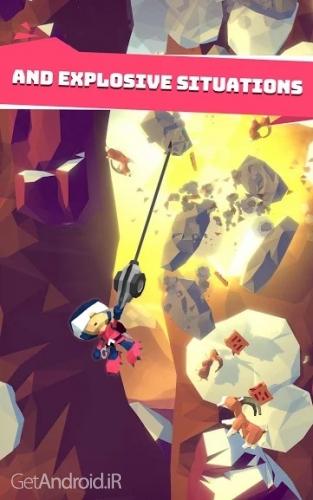 دانلود Hang Line: Mountain Climber v1.1.0 بازی کوهنوردی برای اندروید ! 1