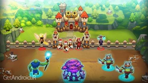 دانلود King Rivals: War Clash v1.0.99 بازی استراتژیک آنلاین رقابت پادشاهان اندروید ! 1
