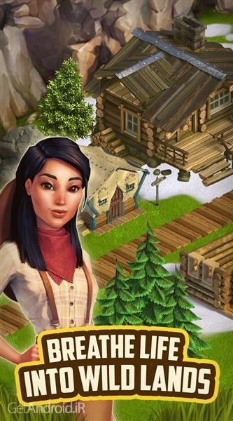 دانلود Klondike Adventures v2.33.2 بازی شبیه ساز مزرعه داری اندروید