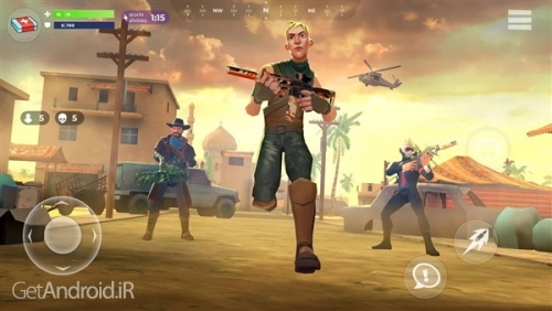 دانلود بازی FightNight Battle Royale FPS Shooter‏ اندروید