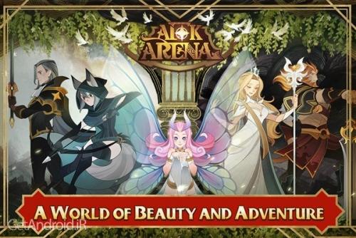دانلود AFK Arena 1.15.08 بازی نقش آفرینی آنلاین جدید اندروید ! 1