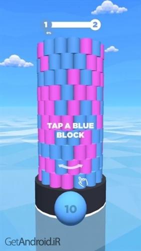 دانلود Tower Color 1.1.9 بازی برج رنگی اندروید ! 1