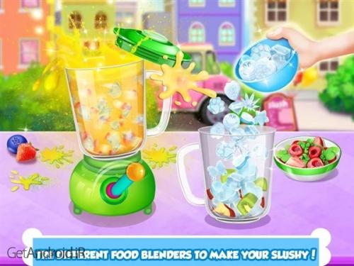 دانلود Icy Food Maker - Frozen Slushy 1.9 بازی ساخت بستنی اندروید ! 1