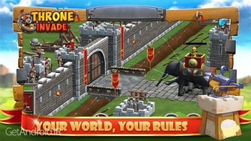 دانلود Rise Of Throne:Empire Defense 1.1.4 بازی دفاع از امپراطوری اندروید! 1