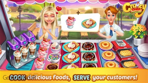 دانلود بازی Crazy Chef Craze Fast Restaurant Cooking Games اندروید