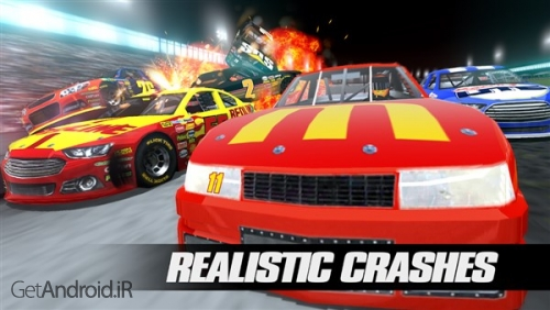 دانلود Stock Car Racing 3.1.15 بازی مسابقات اتومبیل رانی اندروید ! 1