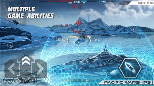دانلود بازی Pacific Warships Online Wargame PvP Naval Shooter اندروید