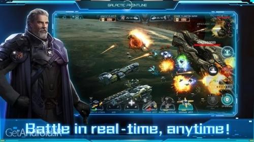 دانلود Galactic Frontline 1.0.109770 بازی خط مقدم کهکشانی اندروید ! 1