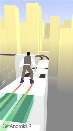 دانلود Sky Roller v1.8 بازی تفننی اسکیت سواری اندروید ! 1