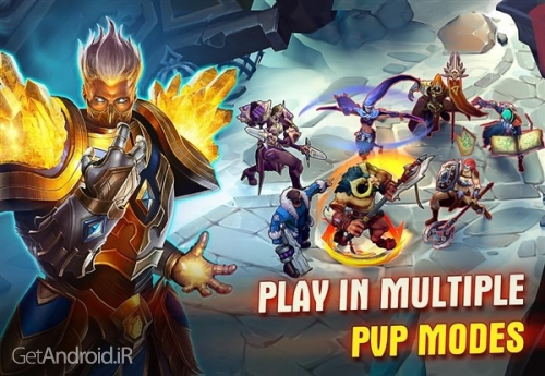 دانلود بازی Juggernaut Wars Fantasy game for RPG Hunters اندروید