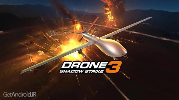 تصویر از دانلود Drone : Shadow Strike 3 v1.24.113 بازی کنترل پهپاد برای اندروید + مود