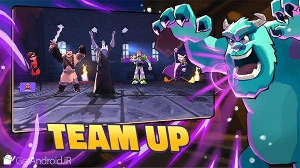دانلود Disney Sorcerers Arena v18.4 بازی میدان نبرد جادوگران دیزنی اندروید