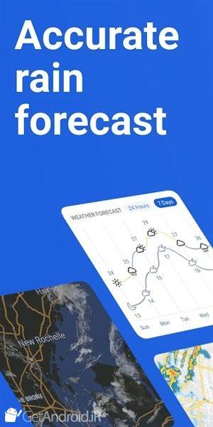 دانلود RainViewer: Doppler Radar & Weather Forecast v2.10 بهترین نرم افزار هواشناسی برای اندروید