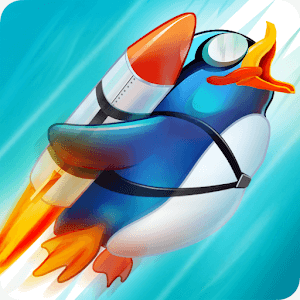 Learn 2 Fly: upgrade penguin games-flying up