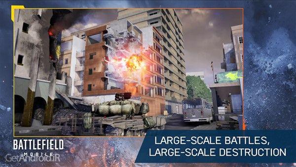 دانلود Battlefield Mobile v1.0 بازی بتلفید موبایل برای گوشی اندروید